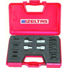Набор торцевых головок IZELTAS 20 предметов, 1113003020