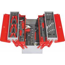 Ящик раскладной металлический IZELTAS с инструментами для механиков 5 секций, 8420005063