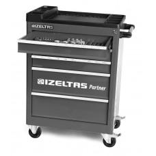 Инструментальная тележка IZELTAS PARTNER с инструментами 5 ящиков, 8235006121