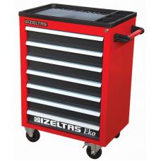 Инструментальная тележка IZELTAS ECO с инструментами 7 ящиков, 8243007096