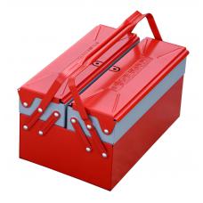 Ящик раскладной металлический IZELTAS для инструментов 3 секции, 8410336103