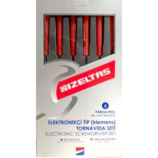 Набор отвёрток IZELTAS 6 предметов, 4500008106